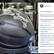 August 2015 AGV Helmets on Instagram