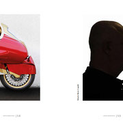 "November 2016. ""Recormotorcycles"" for Ghost in the book ""#‎ghostnumerodue. The book is available http://cibele.it/?product=ghostnumerodue"