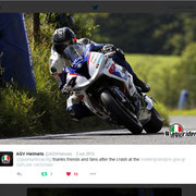 September 2015 AGV Helmets on Twitter
