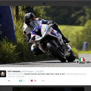 September 2015 AGV Helmets on Twitter
