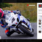 15 August 2014 Guy Martin to AGV Helmets  https://www.facebook.com/AGVhelmets/photos/pb.132543450107041.-2207520000.1421925971./870272689667443/?type=3&theater