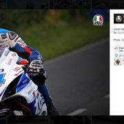 14 August 2014 Guy Martin to AGV Helmets  https://www.facebook.com/AGVhelmets/photos/pb.132543450107041.-2207520000.1421925971./869871336374245/?type=3&theater