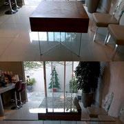 cubierta antes y después
