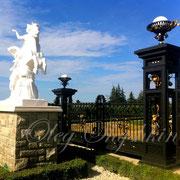 """Estae Gate """"Grande Palais"""", fragment. Wodbidge, Ontario 2012"""
