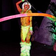 Bailarina Hada Flúor Madrid, Evento Herbalife Caja Mágica 2017