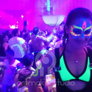 Face Painting Fluor NEONSPLASH Ibiza