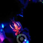 Ganesh UV Painting.  Fluor Party Teatro Barceló Madrid