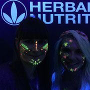 Face painting Eventos Fluor Herbalife Madrid