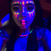 UV Make up. Artmakerstudio Madrid 2017