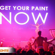 Body Painting NEONSPLASH Ibiza Privilege
