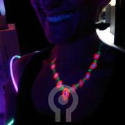 Fluor Necklace. Fluor Party Teatro Barceló Madrid