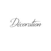 décorations brodées main :  coussins, rideaux, nappes, serviettes, tableaux, ...