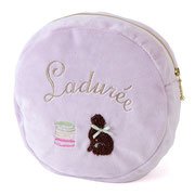 Laduree Blanket Cat Cover Lavender