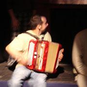 Pierre Zimmer à l'accordéon