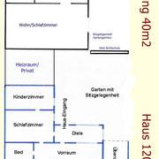 Grundriss Haus/Wohnung