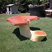 O氏作 屋外テーブル