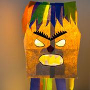 Monsterdeko - selbst gemachte Deko für Kinderparty und Kindergeburtstag