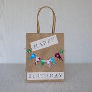 Geschenktüten für den Kindergeburtstag - Happy Birthday