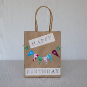 Geschenktüten für den Kindergeburtstag - selbst gemachte Dekoration für Kinderparty und Kindergeburtstag