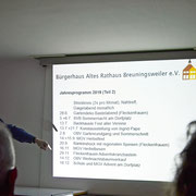 Altes Rathaus Breuningsweiler e.V. - HV 2019