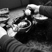 飛騨春慶 漆搾り