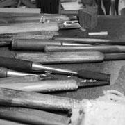 一位一刀彫 彫刻刀