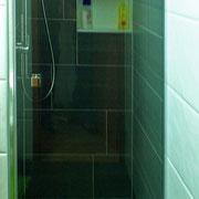 Sicht in die Duschkabine