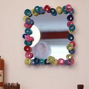 Espejos increíbles con materiales simples.