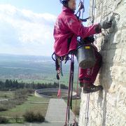 Gefahrenbeseitigung Glockenturm Gedenkstätte Buchenwald