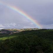 Regenbogen im Pindos-Gebirge - 2003