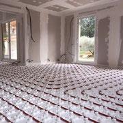 Installation plancher chauffant Aix en Provence