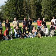Gruppenfoto aller BH Teilnehmer
