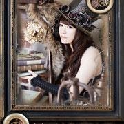 石川智晶様、official Book【裏窓から見えるモノ】 トップハット