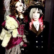 Iruma Rioka様、【Romantique】MV カチューシャ、トップハット