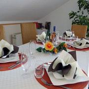 Essbereich, Ferienwohnung Stempfel, Buchloe, Landsberg am Lech