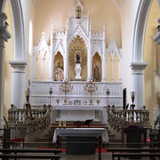Altar der Kathedrale von Teguise