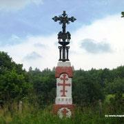 Krzyż w Bodakach z 1889r.  fot. Jan Waszczuk