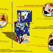 """Kontinente-Würfelpuzzle"" im Rahmen des Projekts ""[Vor]Urteile"", Labyrinth Kindermuseum Berlin"