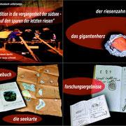 """""""Mit Geschichten im Museum unterwegs: Expedition in die Vergangenheit der Südsee"""", interaktive Führung für Familien im Ethnologischen Museum Berlin"""