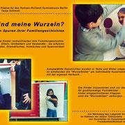 """""""Wo sind meine Wurzeln?"""" im Rahmen des Projekts """"[Vor]Urteile"""", Labyrinth Kindermuseum Berlin"""