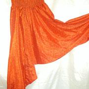 Sarouel Orange en soie mixée 15 euros