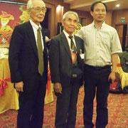 (左から)高橋さん、坂倉さん、張継承所長