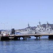 呉港の「自衛艦」