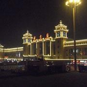 夜の「北京駅」