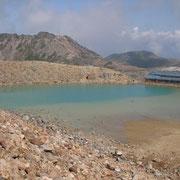 「火口湖」