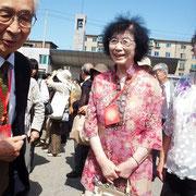 趙毓英先生(元管理所看護婦長)と高橋さん