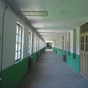 管理所の廊下(通路)