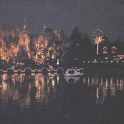 夜の「チボリ公園」