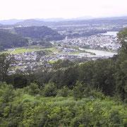千畝の故郷「岐阜県・八百津町」(「人道の丘公園」から)