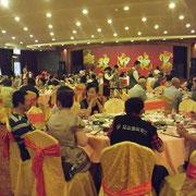 管理所主催の『歓迎パーティー』